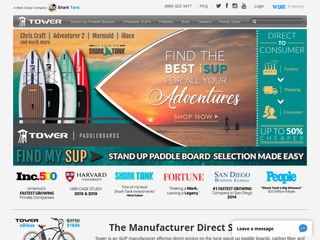 http://www.towerpaddleboards.com/